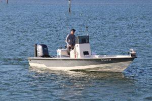 22 ft pathfinder in Sarasota Bay